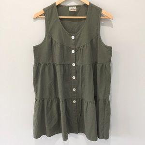 Noelle Linen Tiered Tunic/Dress